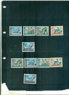 AJMAN JEUX PAN-ARABES AU CAIRO 10 VAL SURCHARGES NEUFS A PARTIR DE 1.25 EUROS - Estate 1964: Tokio