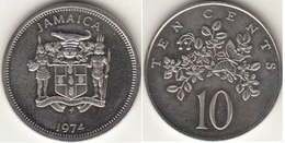 Giamaica 10 Cents 1974 KM#54 - Giamaica