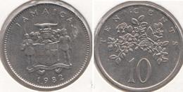 Giamaica 10 Cents 1982 KM#47 - Used - Giamaica