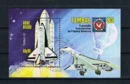 Guinea-Bissau 1983 Raumfahrt Block 248 Gestempelt - Guinea-Bissau