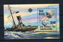 Guinea-Bissau 1983 Schiffe Block 249 Gestempelt - Guinea-Bissau