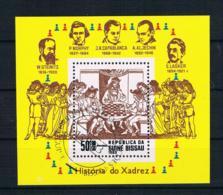 Guinea-Bissau 1983 Schach Block 250 Gestempelt - Guinea-Bissau