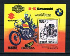 Guinea-Bissau 1985 Motorräder Block 263 Gestempelt - Guinea-Bissau
