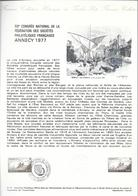 DOCUMENT OFFICIEL 21/77 ANNECY - COTE 2009 = 4.00 € - Documents De La Poste