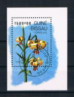 Guinea-Bissau 1989 Blumen Block 278 Gestempelt - Guinea-Bissau