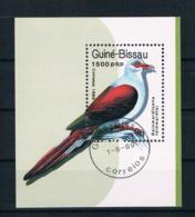 Guinea-Bissau 1989 Vögel Block 275 Gestempelt - Guinea-Bissau