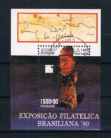 Guinea-Bissau 1989 Kunst Block 280 Gestempelt - Guinea-Bissau