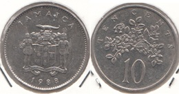 Giamaica 10 Cents 1988 KM#47 - Used - Jamaica
