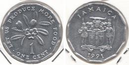 Giamaica 1 Cent 1991 KM#64 F.A.O. - Used - Jamaique