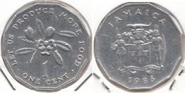 Giamaica 1 Cent 1986 KM#64 F.A.O. - Used - Giamaica