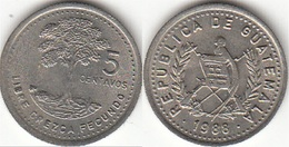 Guatemala 5 Centavos 1988 Km#276.4 - Used - Guatemala