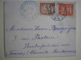 COCHINCHINE - Petite Enveloppe (100X78 Mm) De VINHIONG Affranchie à 9c Pour La France En 1940 - Indocina (1889-1945)