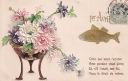 PREMIER AVRIL(CARTE GAUFREE) - 1er Avril - Poisson D'avril