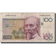 Billet, Belgique, 100 Francs, Undated (1982-94), KM:142a, B+ - 100 Francs