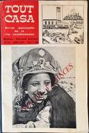 TOUT CASA , Vie à Casablanca Avec Un PLAN , 1977 .   EXCELLENT ETAT , COMPLET  .  4 SCANS .  Beau Format . - Voyages