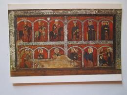 Frontal De Altar Con Escenas De La Vida De Jesus Y Maria. Hacia 1200, Procede De Mosoll. Museo De Arte De Cataluna 3. - Belle-Arti