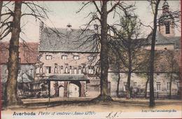 Averbode Porte D' Entree Ingekleurd Chromatografie (In Zeer Goede Staat) Abdij Van Scherpenheuvel-Zichem - Scherpenheuvel-Zichem