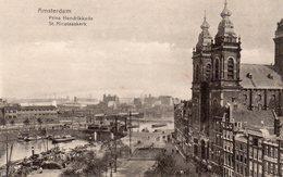 Amsterdam - Prins Hendrikkade - St Nicolaaskerk - Amsterdam