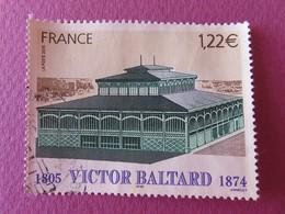 Timbre France YT 3824 - Victor Baltard - Achitecte De La Ville De Paris - Le Pavillon Baltard - 2005 - Used Stamps
