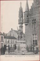 Herentals Herenthals Het Standbeeld Van Den Boerenkrijg Geanimeerd ZELDZAAM KEMPEN (In Zeer Goede Staat) - Herentals
