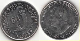 Turkmenistan 50 Tenge 1993 KM#5 - Used - Turkménistan