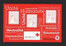 France _ Nvtés 2017 - VF  4.90 € -  Bloc Croix Rouge - Francia