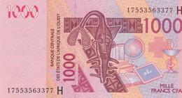 1000 Francs CFA - Banque Centrale Des états De L'Afrique De L'ouest - Neuf 2003 - Billets