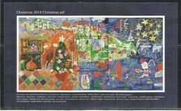 GIBRALTAR GIBILTERRA 2014 CHRISTMAS NATALE NOEL WEIHNACHTEN NAVIDAD BLOCK SHEET BLOCCO FOGLIETTO MNH - Gibilterra