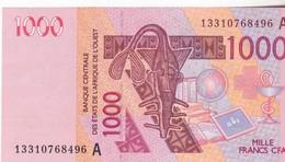 1000 Francs CFA - Banque Centrale Des états De L'Afrique De L'ouest - Neuf 2003 - Banknoten
