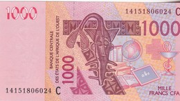1000 Francs CFA - Banque Centrale Des états De L'Afrique De L'ouest - Neuf 2003 - Billetes
