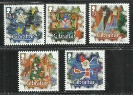 GIBRALTAR GIBILTERRA 2014 CHRISTMAS NATALE NOEL WEIHNACHTEN NAVIDAD COMPLETE SET SERIE COMPLETA MNH - Gibilterra