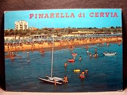 (FG.I42) PINARELLA DI CERVIA - SPIAGGIA, PINETA E ALBERGHI (RAVENNA) Viaggiata - Ravenna