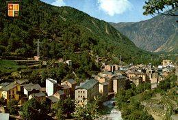 ANDORRE  VALLS D'ANDORRA LES ESCALDES VUE GENERALE - Andorra