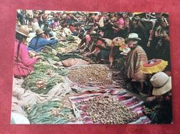 Peru Mercado Dominical De Ccattca. Typical Sunday Market Near Cusco - Peru