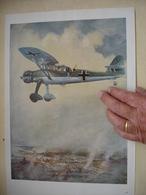 Allemagne 1941 Publicité Double Face HENSCHEL NAHAUFKLARER Et PREUSSAG - 1939-45