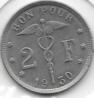2 Francs Nickel 1930 FR - 1909-1934: Albert I