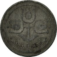 Monnaie, Pays-Bas, Wilhelmina I, 10 Cents, 1942, TB, Zinc, KM:173 - [ 3] 1815-… : Kingdom Of The Netherlands