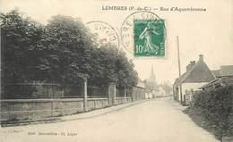 LUMBRES - Rue D'aquembronne. - Lumbres