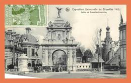 A718 / 041  BRUXELLES Exposition Universelle 1910 Entrée De Bruxelles Kermesse - Belgique