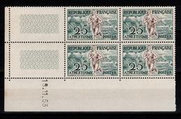 YV 961 N** Athlétisme - Coin Daté 19/11/53 - Coins Datés