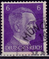 Germany, 1941-44, Adolf Hitler, 6pf, Sc#510, Used - Used Stamps