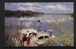 Tour Rhodesia And Nyasaland The Zambezi River CPSM Salisbury Zimbabwe Afrique - Zimbabwe