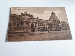 * TOURNAI La Gare Début 1900 - Tournai
