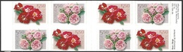 Norway   2001   Sc#1304b  Roses Booklet MNH  2016 Scott Value $16 - Roses