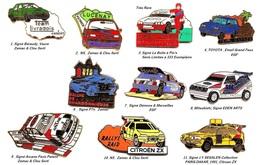 Véhicules 4x4_ Rallye Automobile_1 Pin's Aux Choix Sur 12 Présentés_ - Rallye