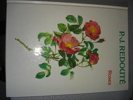"""Rozen """" Roses """" Van P.J. Redoute 1986 - Livres, BD, Revues"""