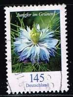 Bund 2018, Michel# 3351 R O Blumen Mit Nr. 155 - Rollenmarken