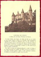 CP -Chateau De Vèves,à Celles Près De Dinant (Province De Namur). Verso : Ern.Thill - Dinant