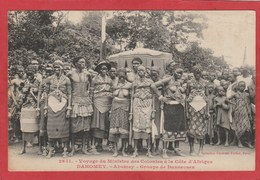 CPA: Dahomey - Voyage Du Ministre Des Colonies - Abomey - Groupe De Danseuses (Fortier N°2651) - Dahomey
