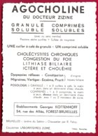 Collection Laboratoires Zizine-Ern.Thill-Bruxelles,Jardins Du Sablon-Chaussetier Par R. Fabry - Collections